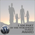 Family of Wordpress Award